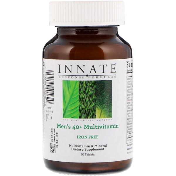 Innate Response Formulas, Мультивитамин для мужчин от 40 лет, без железа, 60 таблеток (Discontinued Item)
