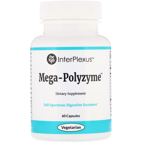 Mega-Polyzyme, 60 капсул