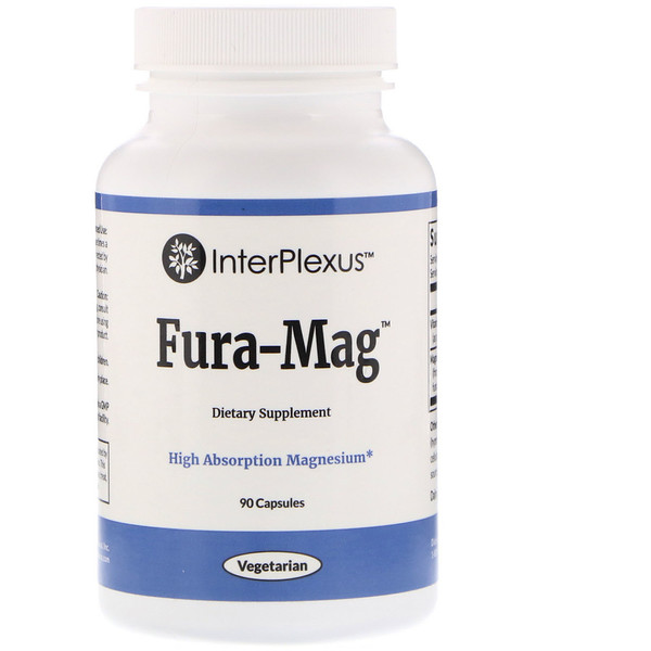 InterPlexus, Fura-Mag, 90 капсул (Discontinued Item)
