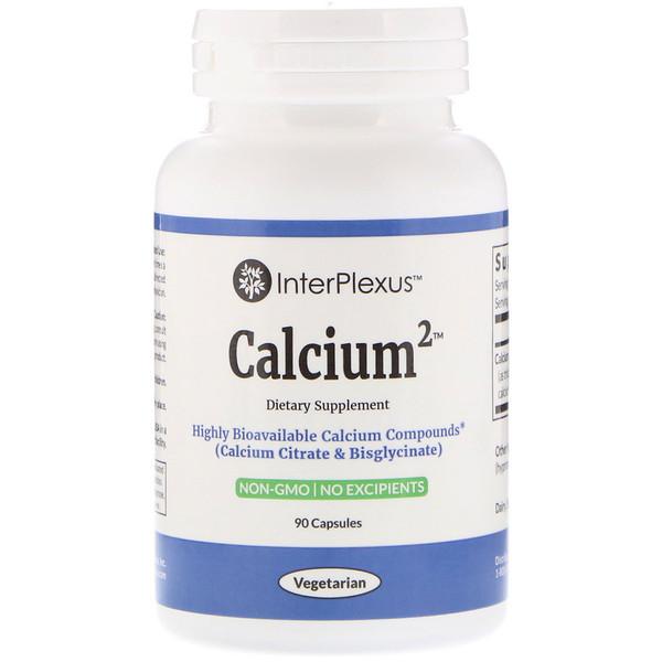InterPlexus, Calcium2, 90 капсул (Discontinued Item)
