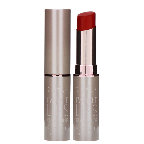IPKN, Twinkle Lips, матовые губы, 03 матовя роза, 0,16 унц. (4,5 г) (Discontinued Item)