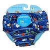 i play Inc., Многоразовый и впитывающий подгузник для плавания, для 2-летних малышей, морские обитатели, 1 шт