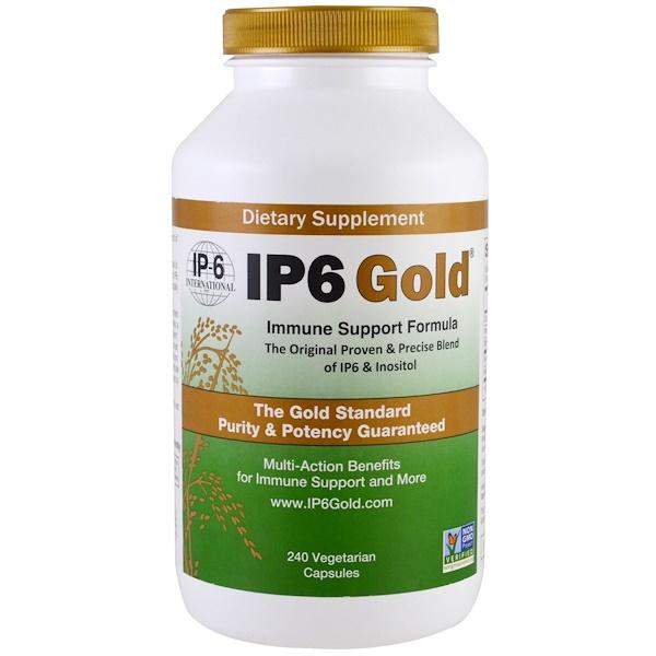 Формула иммунной поддержки IP6 Gold, 240 растительных капсул