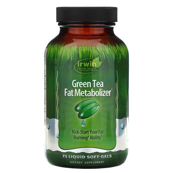 Зеленый Чай, Метаболайзер Жиров 75 жидких гелевых капсул