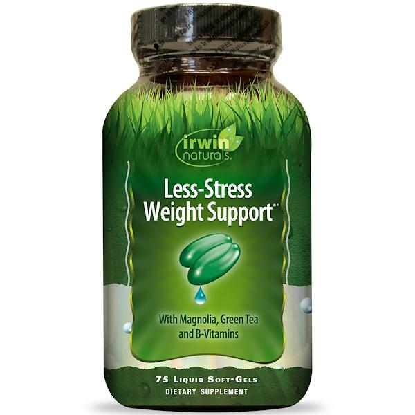 Irwin Naturals, Пищевая добавка «Поддержка комфортного веса», 75 мягких капсул (Discontinued Item)