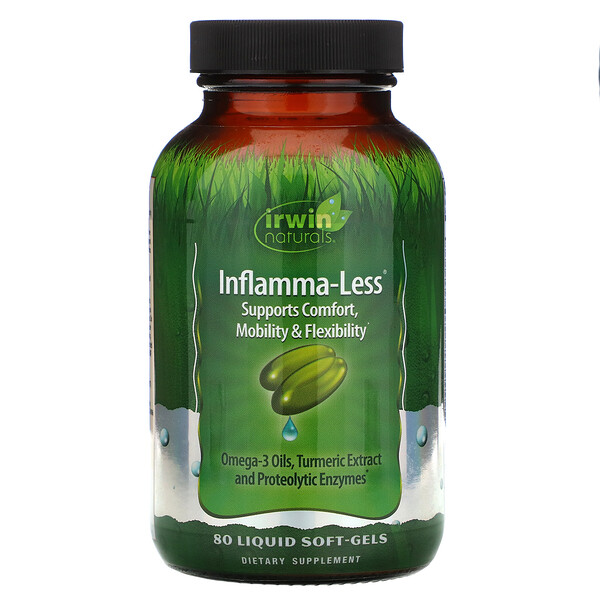 Inflamma-Less, 80 гелевых капсул