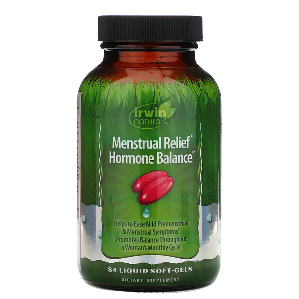 Menstrual Relief Hormone Balance, 84 мягких желатиновых капсулы с жидкостью