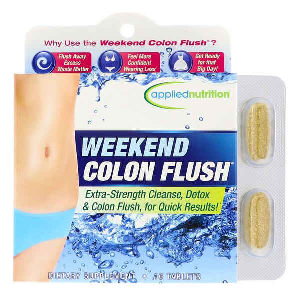 appliednutrition, Weekend Colon Flush, 16 таблеток