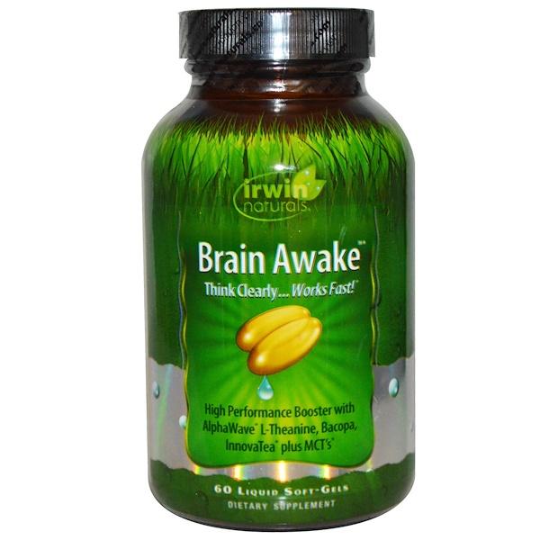 Brain Awake, 60 жидких гелевых капсул