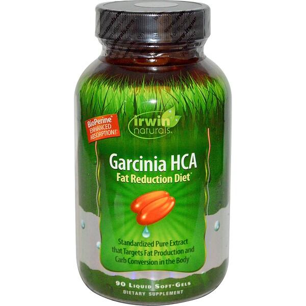 Irwin Naturals, Гарциния ГЛК, 90 гелевых капсул (Discontinued Item)