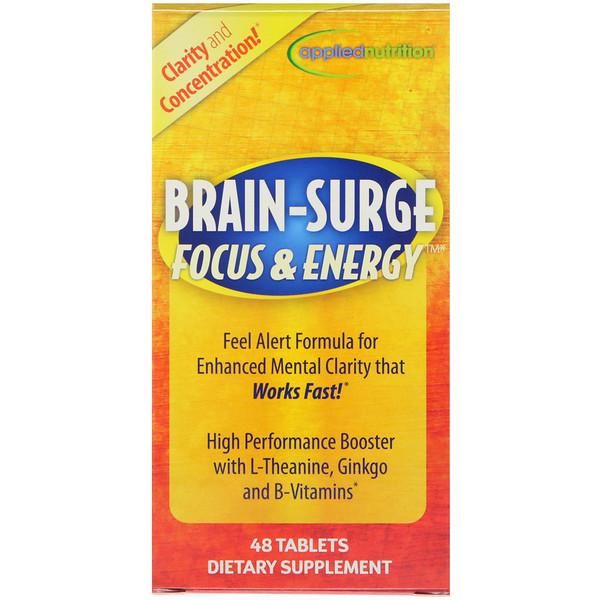 appliednutrition, Мозговой импульс Концентрация и энергия, 48 таблеток (Discontinued Item)