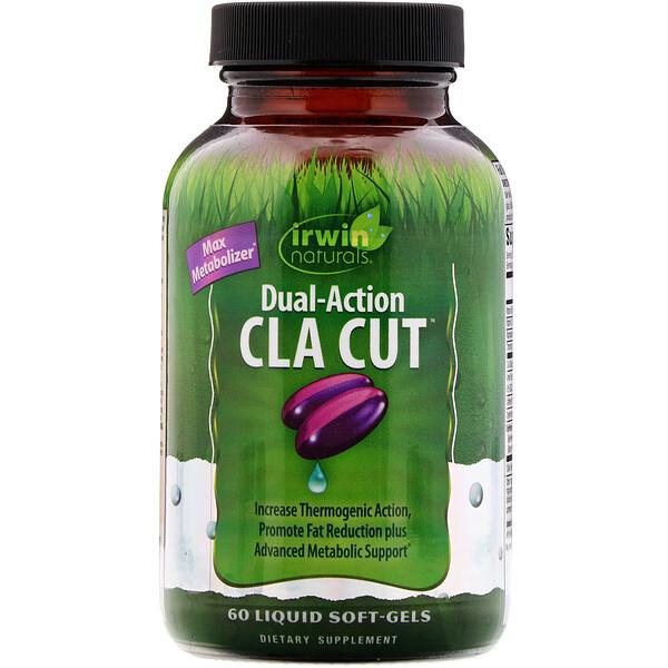 Dual-Action CLA Cut, 60желатиновых капсул