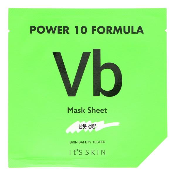 It's Skin, Power 10 Formula, VB Mask Sheet, Sebum Control, 1 Sheet, 25 ml (Discontinued Item)
