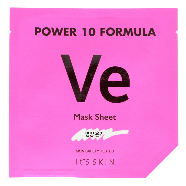 It's Skin, Power 10 Formula, VE Mask Sheet, Glow, 1 Sheet, 25 ml (Discontinued Item)
