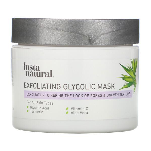 InstaNatural, Exfoliating Glycolic Mask,  2 oz (56 g)