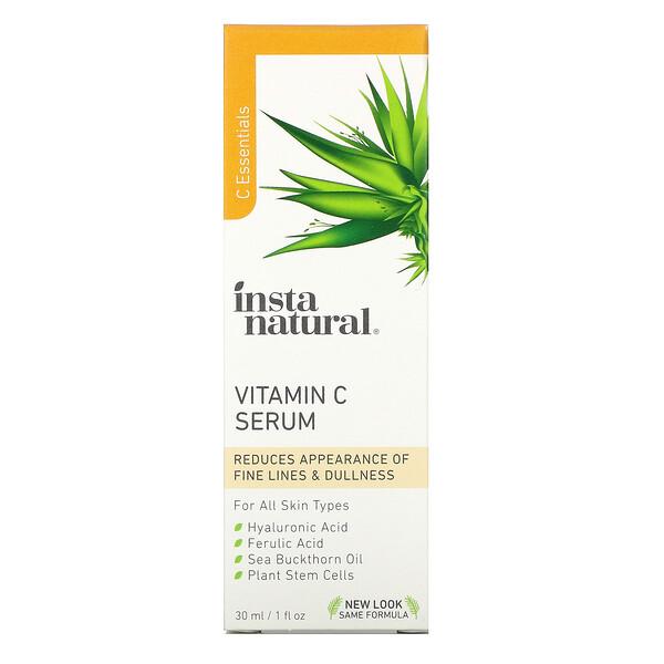 InstaNatural, сыворотка с витаминомC, 30мл (1жидк.унция)
