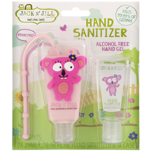 Hand Sanitizer, Koala, 2 Pack, 0.98 fl oz (29 ml) Each and 1 Case
