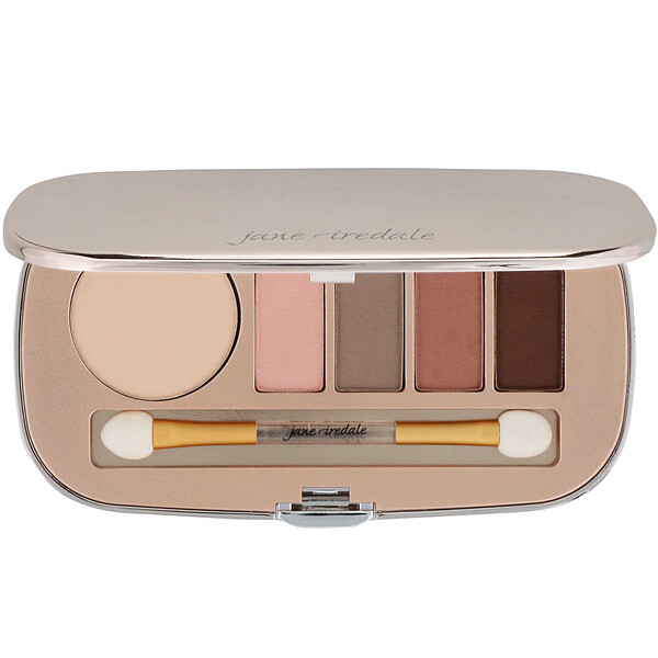 Jane Iredale, Eye Shadow Kit, Naturally Matte, 0.34 oz (9.6 g) (Discontinued Item)