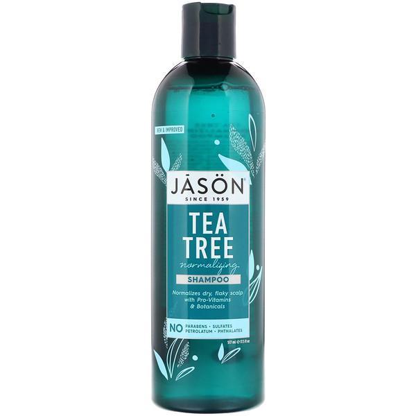 Normalizing Tea Tree Shampoo, 17.5 fl oz (517 ml)