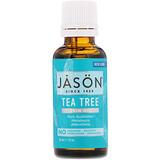 Jason Natural, 100 % органическое масло чайного дерева, 30 мл (1 жидкая унция) - iHerb