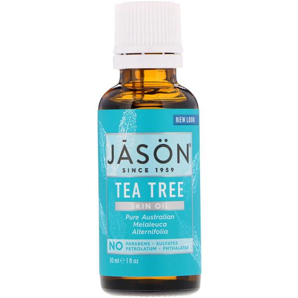 Skin Oil, Tea Tree, 1 fl oz (30 ml)
