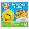 Earth's Best, Печенье Sunny Days для перекуса, яблоко, 8 печений, 0.67 унций (19 г) каждое
