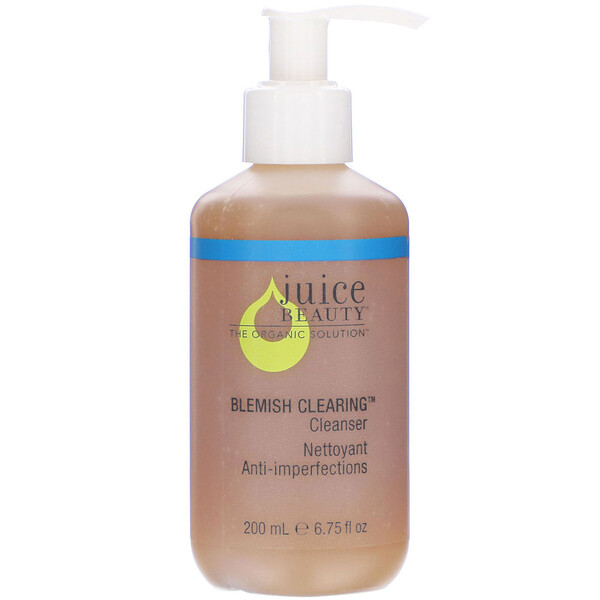 Juice Beauty, Blemish Clearing Cleanser, 6.75 fl oz (200 ml) (Discontinued Item)
