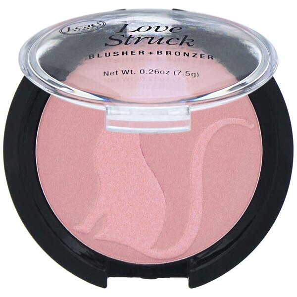 Румяна + бронзер Love Struck, оттенок LGP101 «Розовый душистый горошек», 7,5г