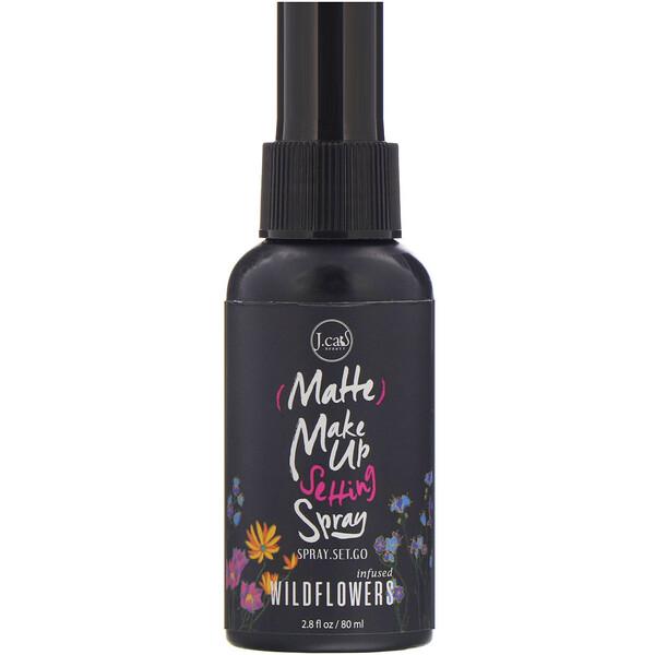 Cпрей для фиксации макияжа Matte Make Up Setting Spray, SS101 «Дикие цветы», 80мл