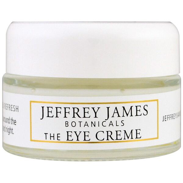 Крем для кожи вокруг глаз, Яркость, легкость, свежесть, 0,5 унции (15 мл)
