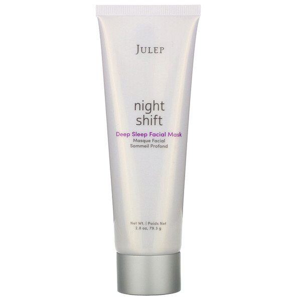 Julep, Night Shift, маска для лица Deep Sleep Facial Mask, 79,3г (Discontinued Item)