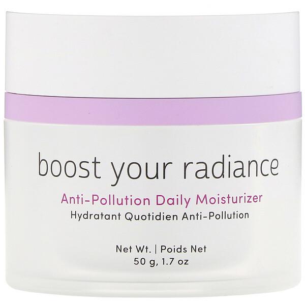 Boost Your Radiance, защитный увлажняющий крем для ежедневного применения, 50г