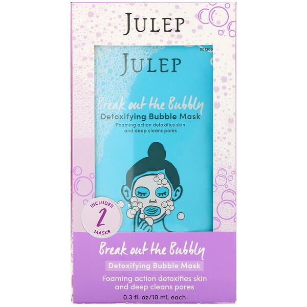 Break Out the Bubbly, пузырьковая маска для выведения токсинов, 2шт.