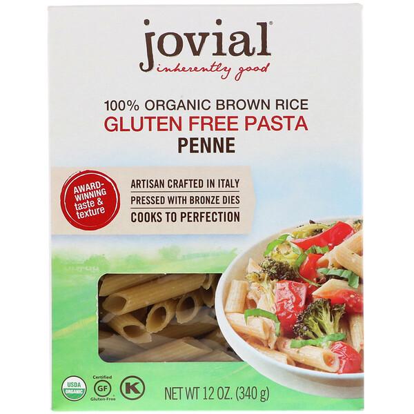 100% Organic Brown Rice Pasta, Penne , 12 oz (340 g)