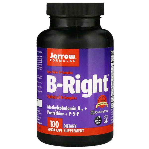 B-Right, 100 растительных капсул