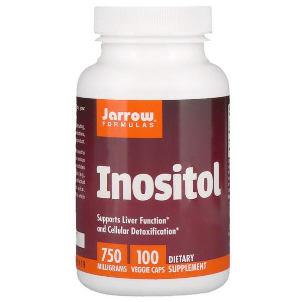 Инозитол, 750мг, 100растительных капсул