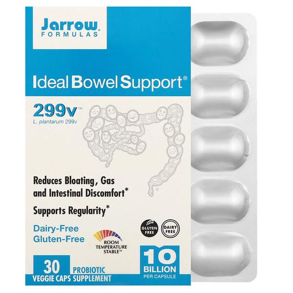 Ideal Bowel Support, 299v, 10 млрд клеток, 30 растительных капсул