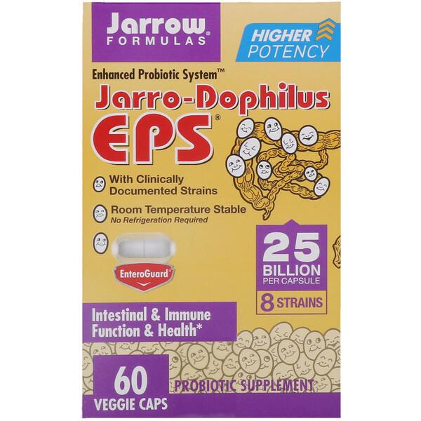 Jarrow Formulas, Jarro-Dophilus EPS, 25 миллиардов, 60 растительных капсул