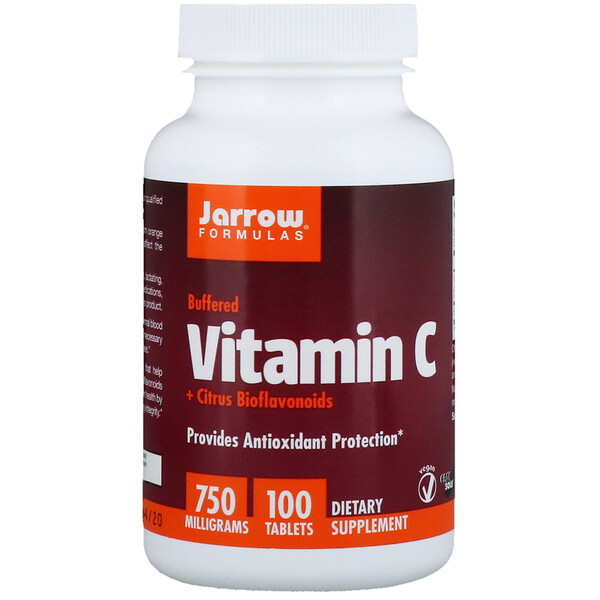Буферизованный витамин C + биофлавоноиды цитрусовых, 750 мг, 100  таблеток