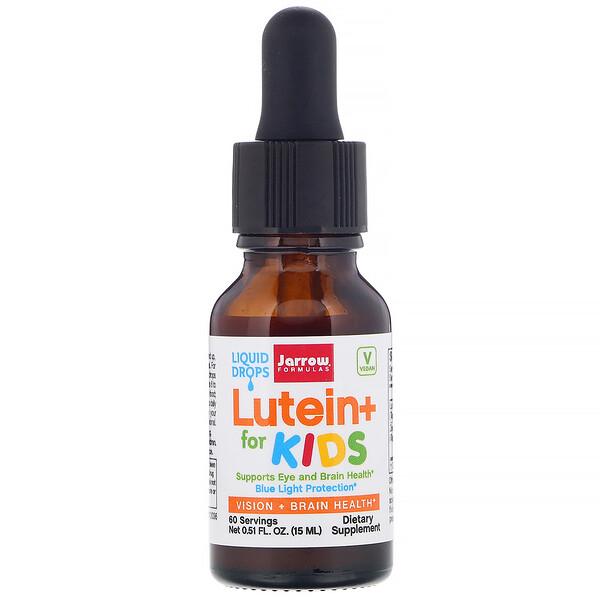 Jarrow Formulas, Lutein+ for Kids,  0.51 fl oz (15 ml)