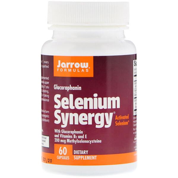 Jarrow Formulas, Синергия селена (Selenium Synergy), 60 капсул