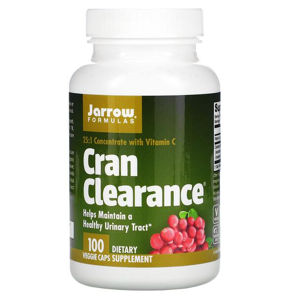 Jarrow Formulas, Cran Clearance, 100 капсул