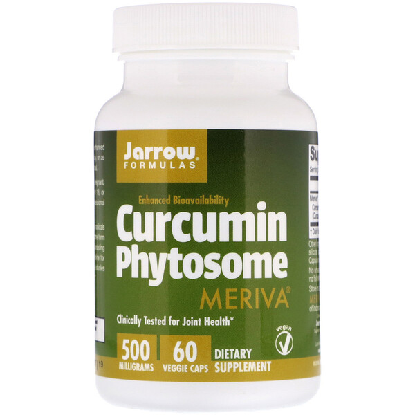 Curcumin Phytosome with Meriva, 500 mg, 60 Veggie Caps