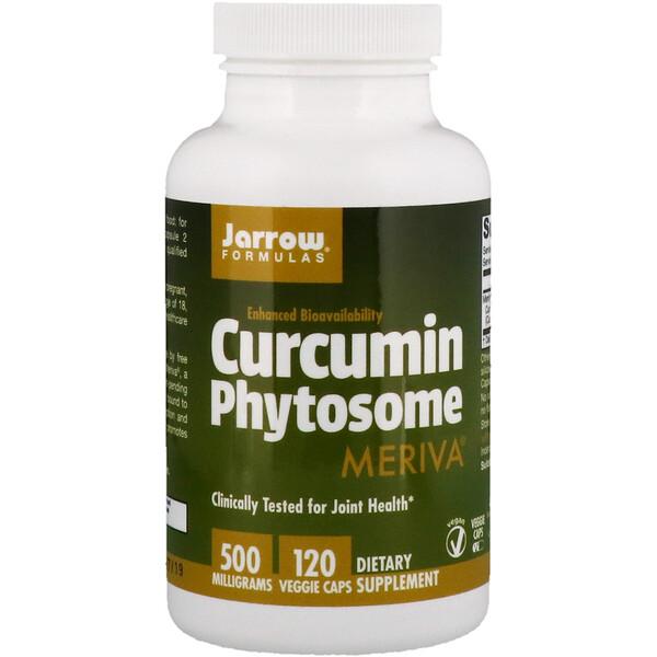 Фитосома куркумина с Meriva, 500 мг, 120 растительных капсул