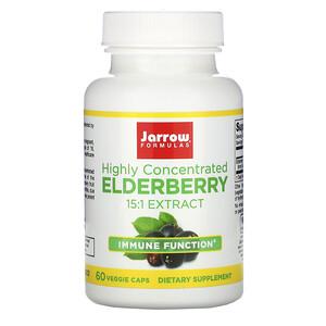 Jarrow Formulas, Highly Concentrated Elderberry Extract, 60 Veggie Caps