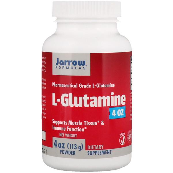 L-Glutamine Powder, 4 oz (113 g)