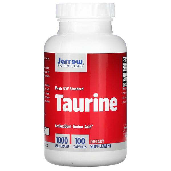 Taurine, 1000 мг, 100 капсул