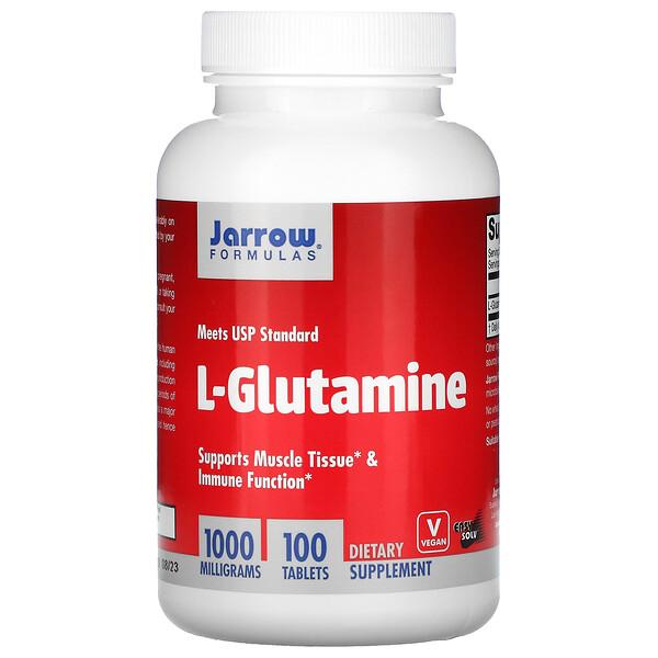 L-Glutamine, 1000 мг, 100 таблеток