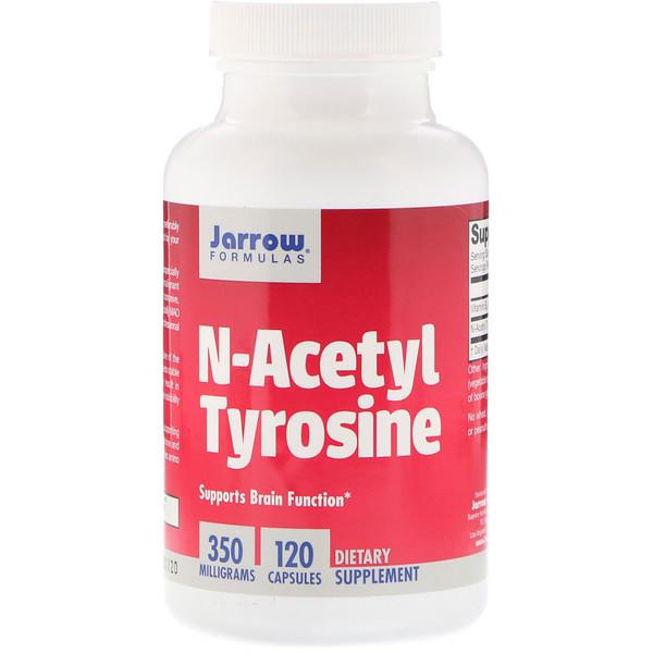 N-ацетил тирозин, 350 мг, 120 капсул