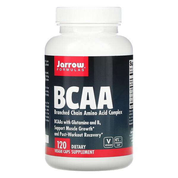 BCAA, Branched Chain Amino Acid Complex, 120 растительных капсул